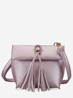 Tassels Crossbody Bag - Purple