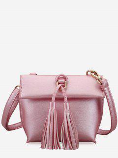 Tassels Crossbody Bag - Pink