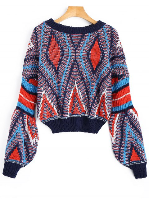 buy Heathered Chunky Sweater - COLORMIX ONE SIZE Mobile