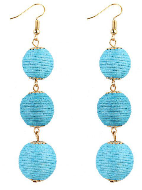 fancy Pair of Bon Bon Style Dangle Earrings -   Mobile