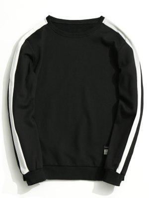 Vlies Zweifarbiges Sweatshirt