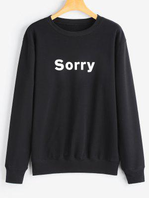 Grafik Sorry Sweatshirt