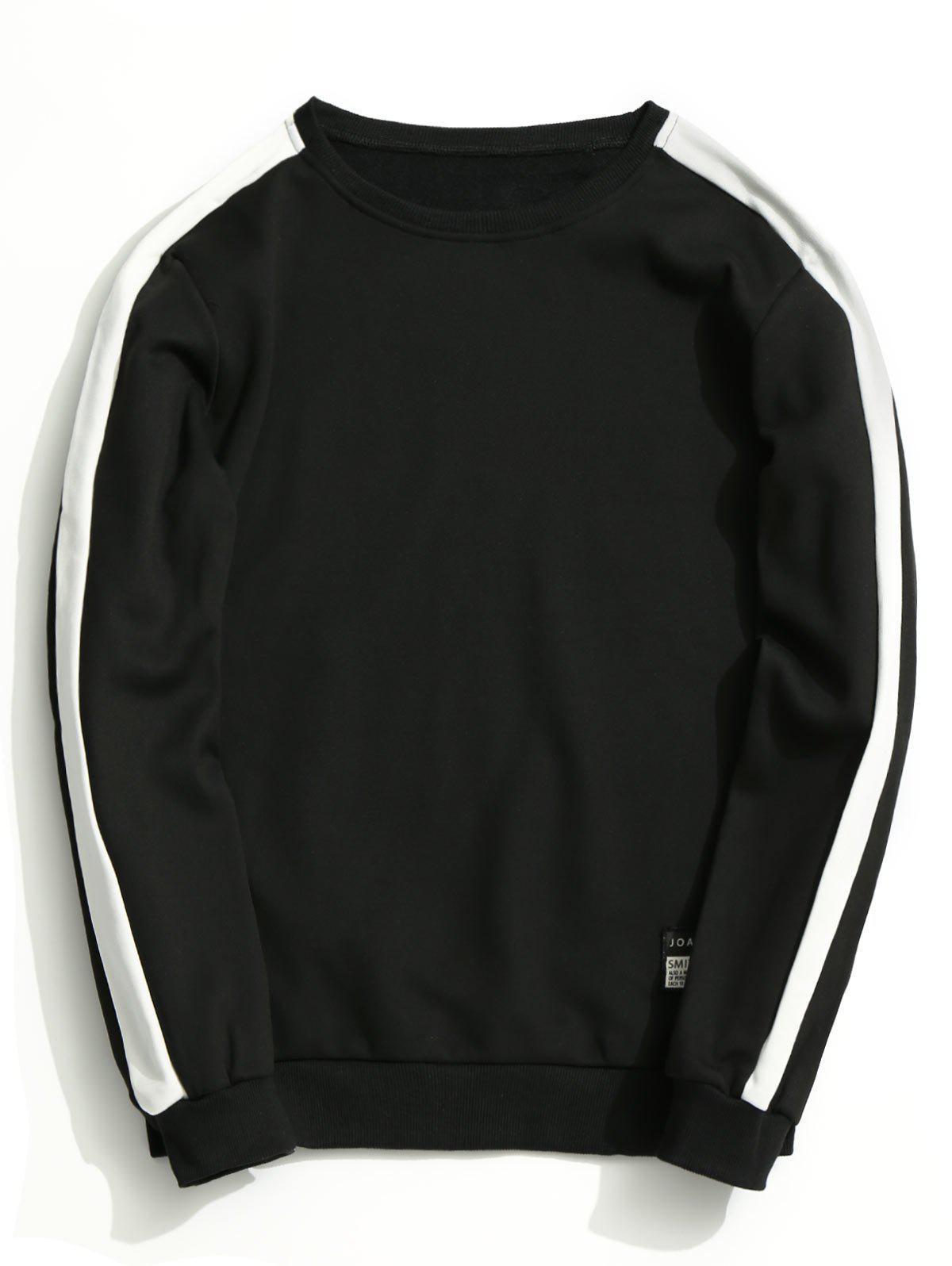 Fleeced Two Tone Sweatshirt