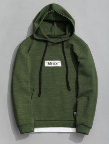Pullover Verde Xl Graphic Mirror Hoodie rOwFrBqxt