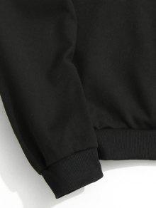 3xl Sudadera Gr Con Estampado Negro 225;fico 4w6AqwC