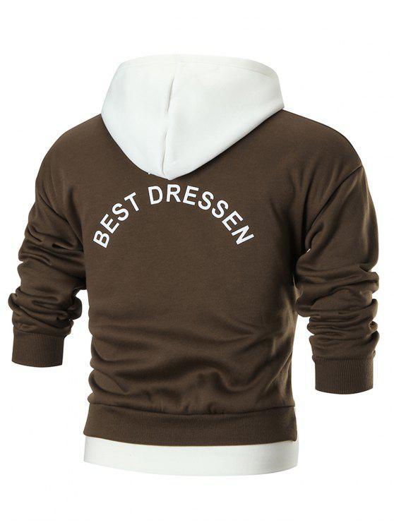 Abbigliamento Donna Yours Più Taglie Felpa blocco di colore grigio