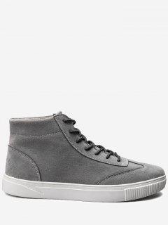 Attacher Haut Haut Chaussures De Sport - Gris 40