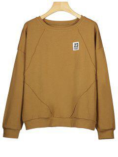 Cotton Patch Sweatshirt - Brown M