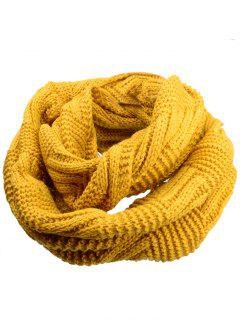 Outdoor Crochet Ribbed Knitting Scarf - Earthy