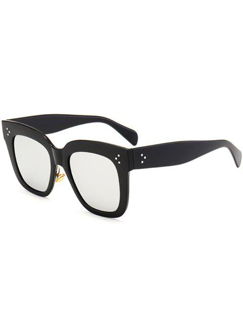 Gafas de sol cuadradas anti UV Full Frame - Negro + Mercurio  Mobile
