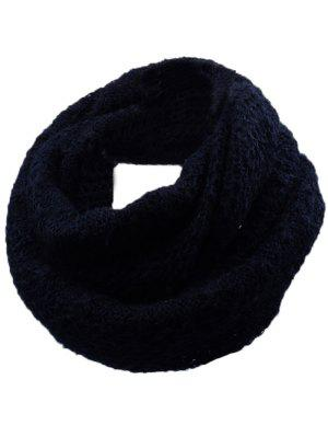 Outdoor Rhombus Pattern Chunky Knitted Scarf