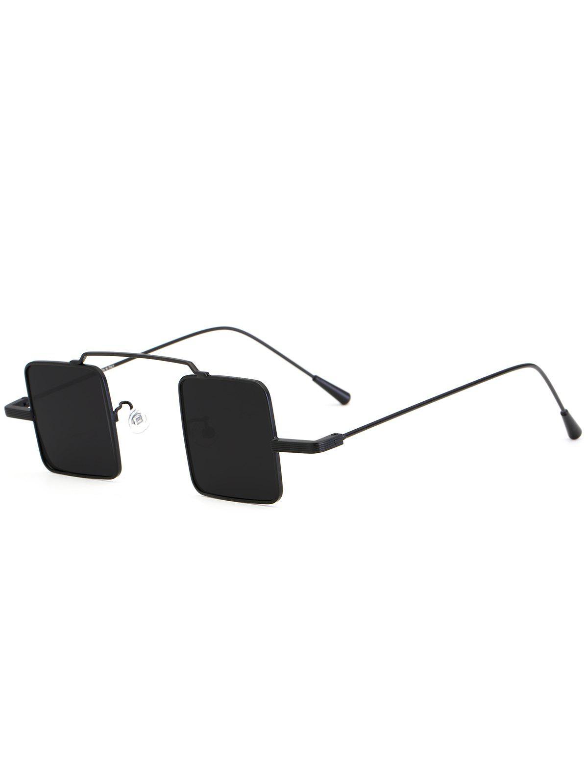 Vintage Square Shape Full Frame Sunglasses 231951401