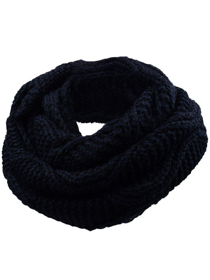 Soft Thicken Ribbed Knit Winter Scarf 232098104