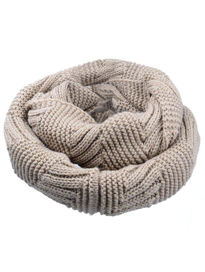 Outdoor Crochet Ribbed Knitting Scarf 232097910
