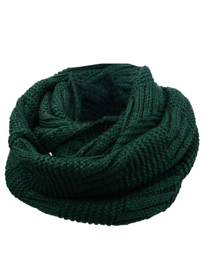 Outdoor Crochet Ribbed Knitting Scarf 232097911