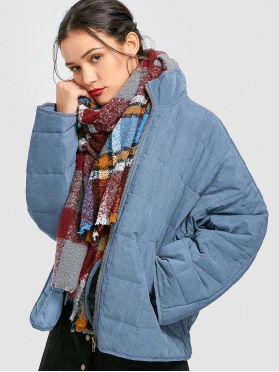 Denim quilted jacket