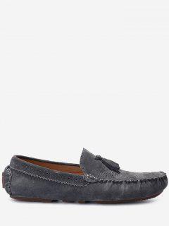 Slip On Tassel Casual Shoes - Gray 43
