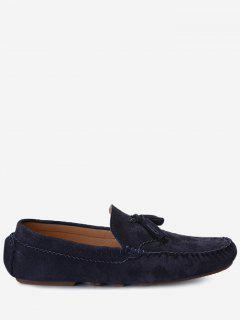 Slip On Tassel Casual Shoes - Blue 41