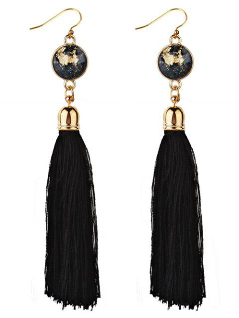 shop Vintage Boho Style Long Tassel Drop Earrings -   Mobile