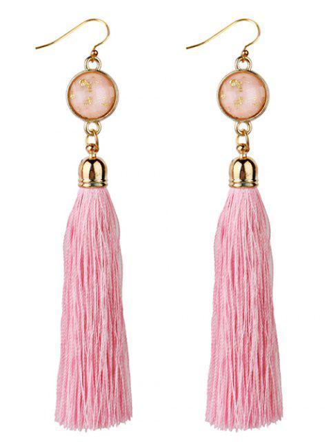 latest Vintage Boho Style Long Tassel Drop Earrings -   Mobile