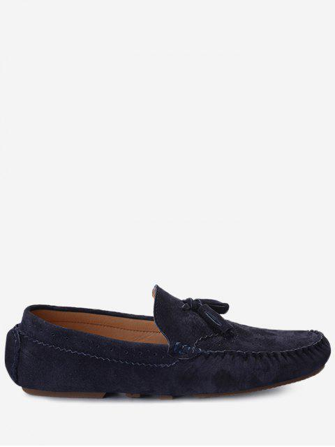 shops Slip On Tassel Casual Shoes - BLUE 41 Mobile