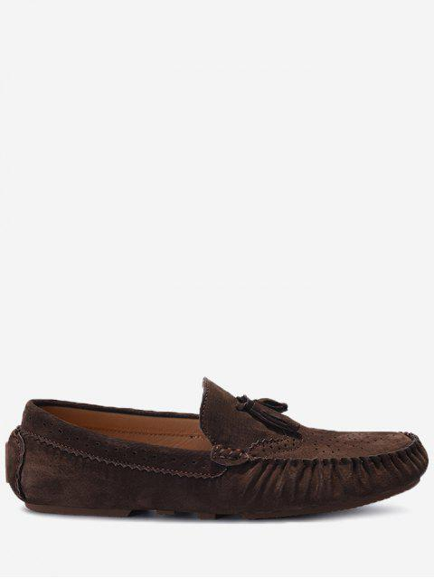 Slip On Tassel Zapatos casuales - Café 42 Mobile