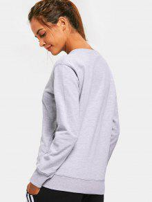 Gris Xl Crew Casual Sweater Neck qpxIgWtTwH