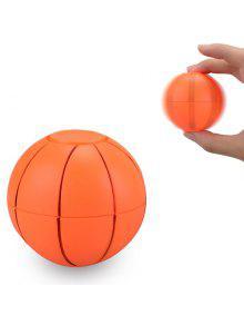 لعب كمان كرة السلة كرة القدم البلاستيك فيدجيت سبينر - البرتقالي