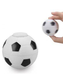 لعب كمان كرة السلة كرة القدم البلاستيك فيدجيت سبينر - أبيض