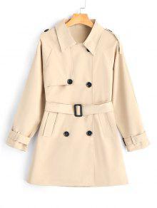 معطف الخندق مربوط تنورة - كاكي M