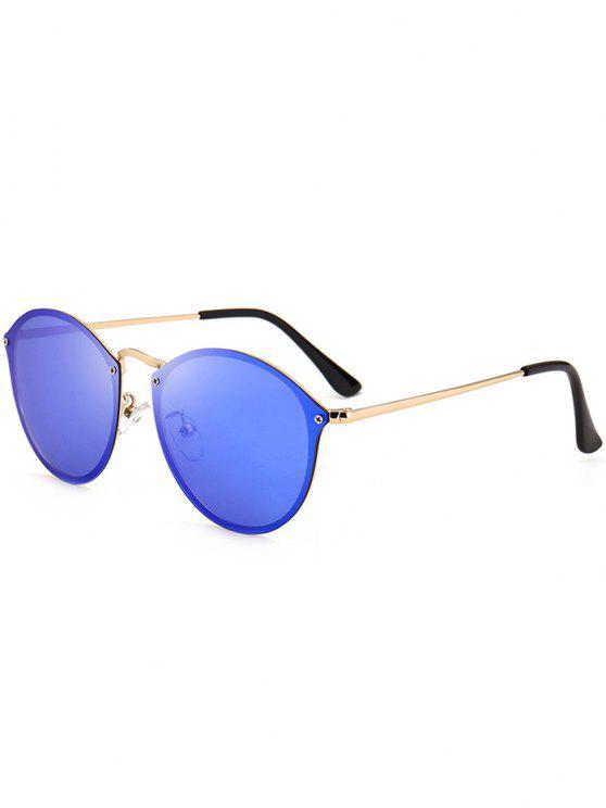 Gli Occhiali Occhiali Anti UV Cat Mirrored - blu scuro