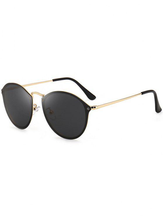 Óculos de Sol de Estilo de Gato de Anti-UV - Preto