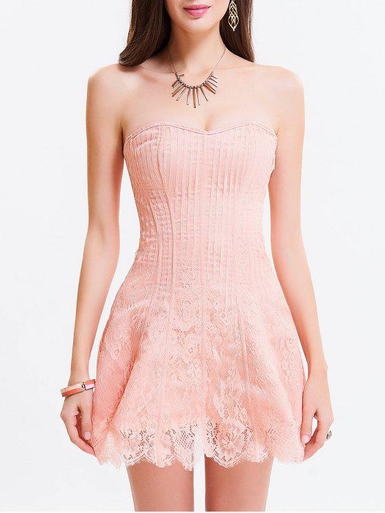 Light Pink Corset Dresses