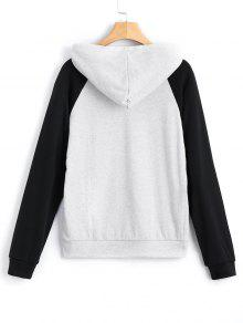 Hoodie Hit Gris L Claro Kangaroo Color Pocket w4qrpt4