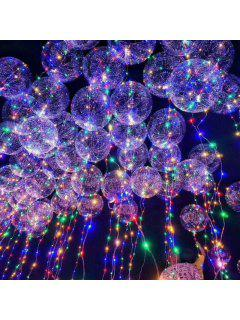 LED String Lights Transparent  Balloon - Transparent