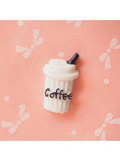 DIY Phone Case Decorations Coffee Cola Milk - White