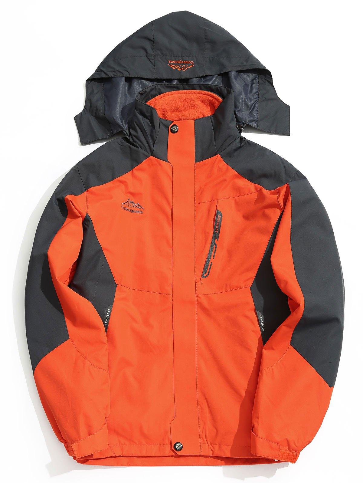 Hooded Anorak Jacket 232066301
