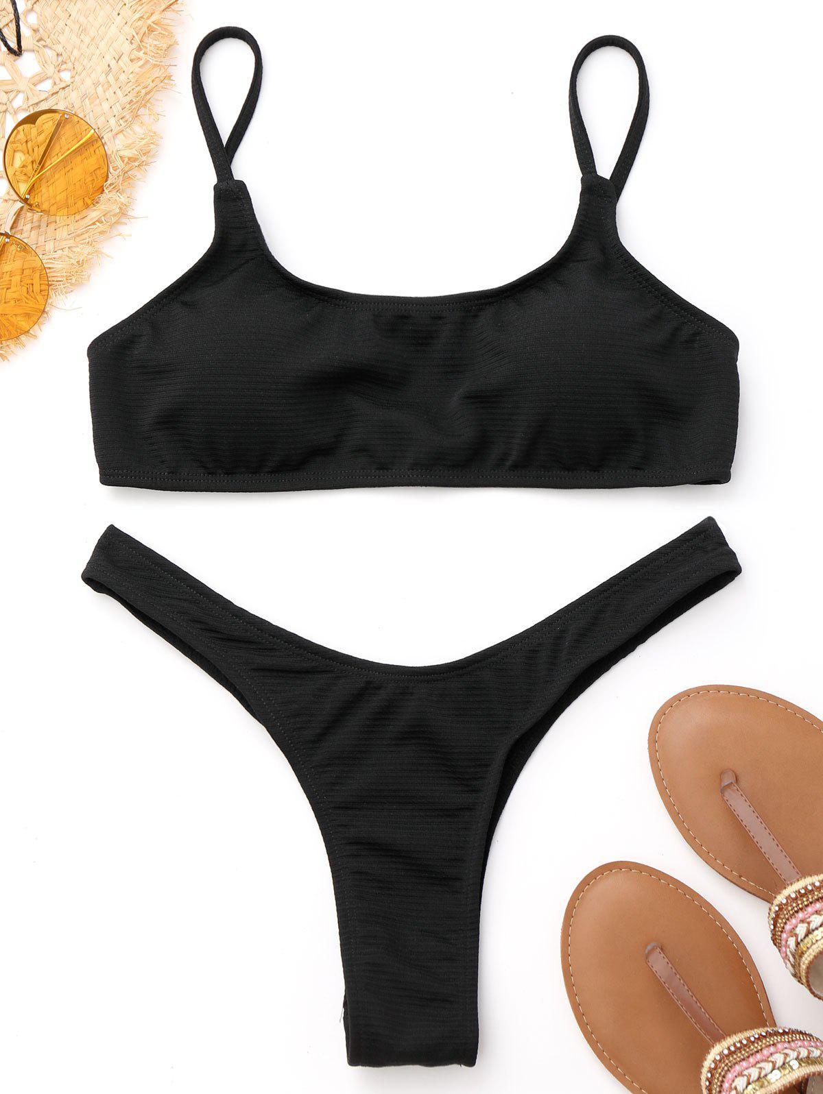 Bikini à cordes hautes