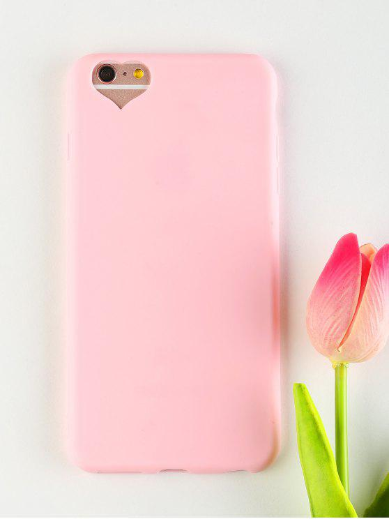 sale Heart DIY Phone Case For Iphone - PINK FOR IPHONE 6 PLUS / 6S PLUS