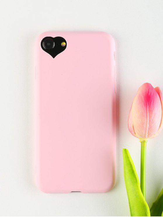 affordable Heart DIY Phone Case For Iphone - PINK FOR IPHONE 7/8