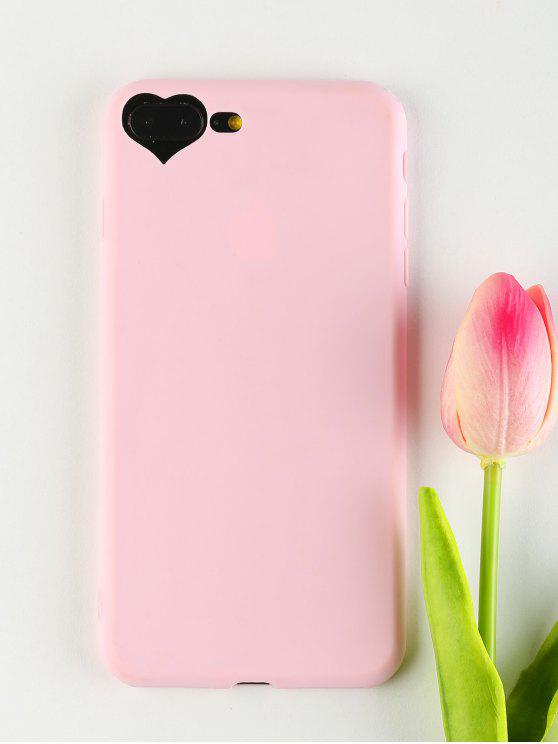 buy Heart DIY Phone Case For Iphone - PINK FOR IPHONE 7 PLUS/8 PLUS