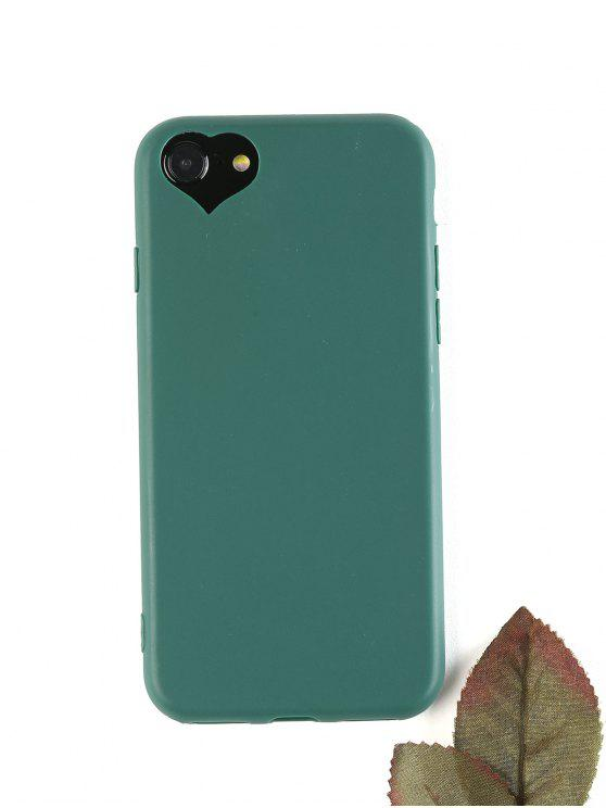 women's Heart DIY Phone Case For Iphone - BLACKISH GREEN FOR IPHONE 7/8