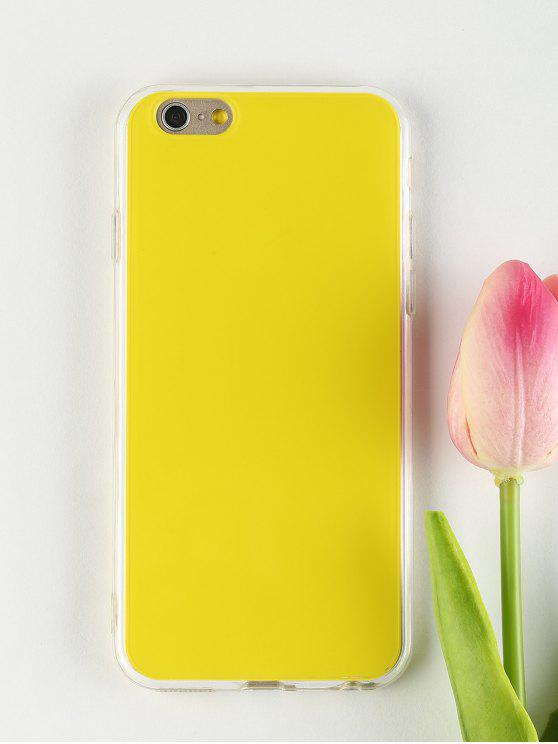 chic DIY Phone Case For Iphone - YELLOW FOR IPHONE 6 / 6S