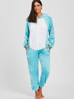 Pijama Lindo De One Piece Rabbit Animal Onesie - Cielo Azul Xl