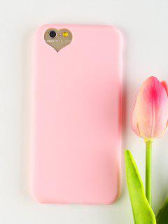 Heart DIY Phone Case For Iphone - Pink For Iphone 6 / 6s