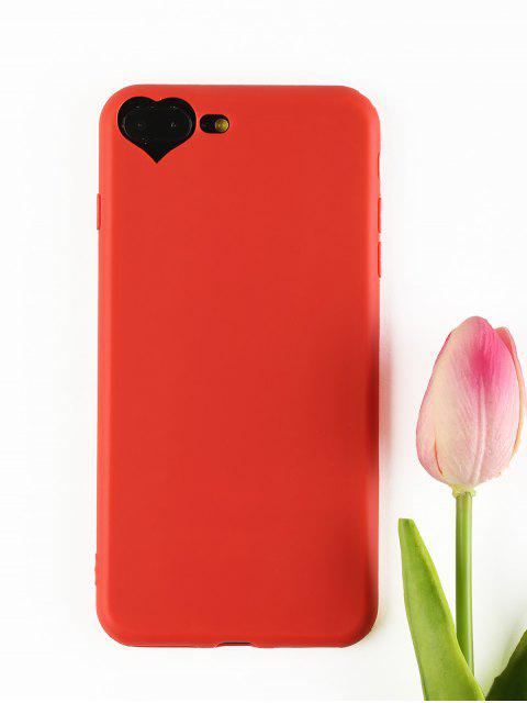 latest Heart DIY Phone Case For Iphone - RED FOR IPHONE 7 PLUS/8 PLUS Mobile
