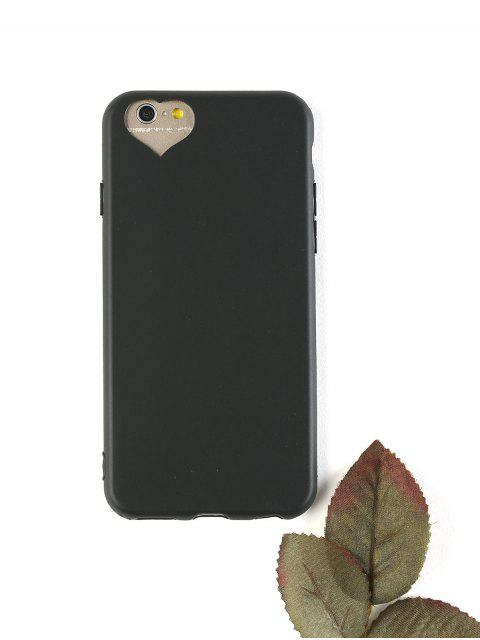 trendy Heart DIY Phone Case For Iphone - BLACK FOR IPHONE 6 / 6S Mobile
