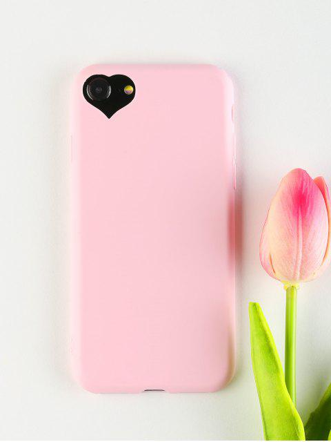 affordable Heart DIY Phone Case For Iphone - PINK FOR IPHONE 7/8 Mobile