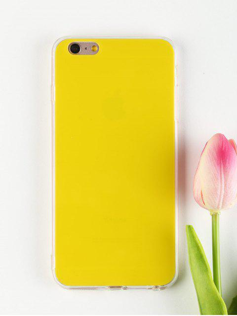 fancy DIY Phone Case For Iphone - YELLOW FOR IPHONE 6 PLUS / 6S PLUS Mobile