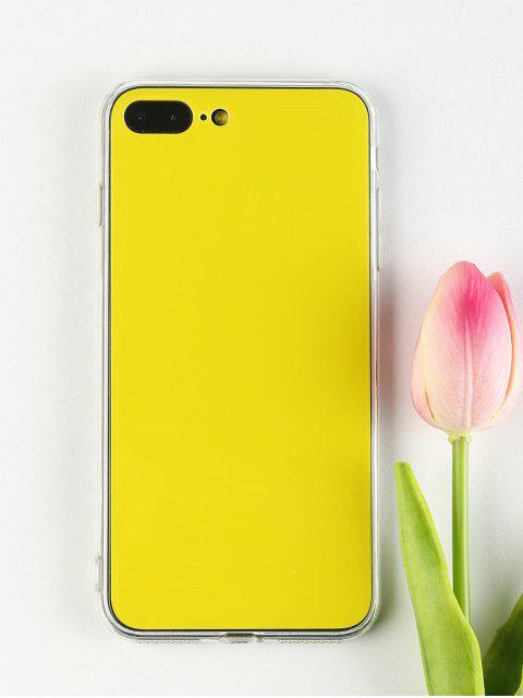 sale DIY Phone Case For Iphone - YELLOW FOR IPHONE 7 PLUS/8 PLUS Mobile